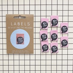 """Label """"YES I made it"""""""