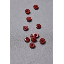 Plain Corozo Button 11mm Cider